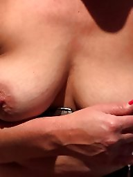 Dildo, Shaved, Mature stocking, Mature shaved, Shaving, Mature nipple