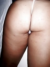 Bed, Asses, Wife ass, Unaware