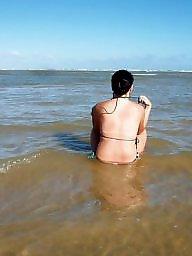Brazilian, Beach milf, Nude beach, Milf nudes