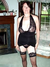 Lingerie, Mature stockings, Mature lingerie