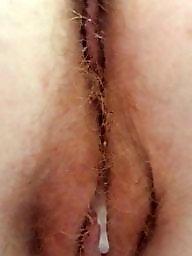 Creampie, Hairy redhead