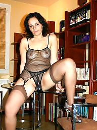 Old and young, Fishnet, Young old, Young and old, Seethrough, Old milf