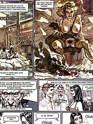 Comics, Comic, Cartoon comic