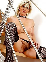 Hairy granny, Hairy mature
