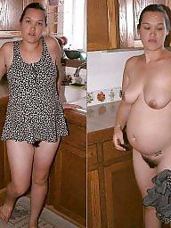 Pregnant, Dressed undressed, Mature dress, Undressed, Undressing, Mature dressed
