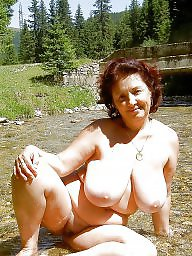 Mature big tits, Big tits mature, Public boobs, Mature public