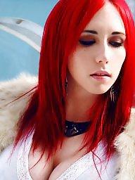 Redhead, Cosplay