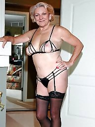 Mature lingerie, Mature stocking, Stocking mature