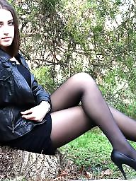 Heels, Stockings heels, Amateur nylon, Nylon stockings, Nylon heels