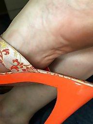 Feet, Mature feet, Mature