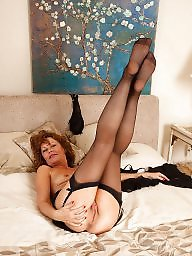 Granny nylon, Granny, Granny stockings, Mature legs, Mature stockings, Mature nylon