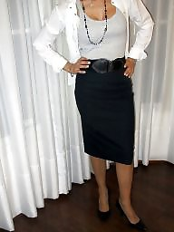 Milf, Office, Skirt, Pump
