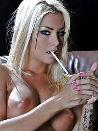 Smoking, Old young, Smoke, Erotic, Young amateur