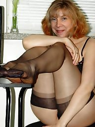 Nylon, Mature stocking, Nylons, Mature nylon, Stockings, Women