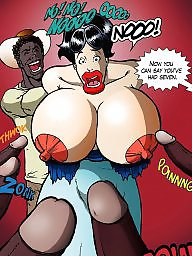 Cartoons, Cartoon interracial