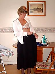 Uk mature, Ironing