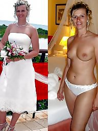 Dressed undressed, Bride, Dressed, Dress undress, Brides, Undressing