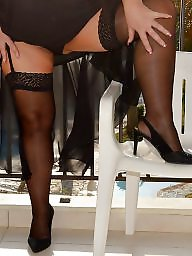 Tease, Upskirt mature, Teasing, Mature upskirt, Mature stockings, Xxx