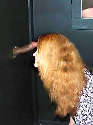 Gloryhole, Blowjobs, Milf blowjob