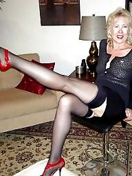 Sexy, Milf stockings, Stocking mature, Stocking milf