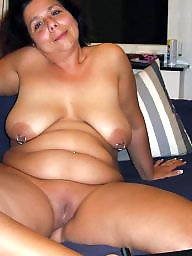Pierced, Piercing, Amateur, Mature hot