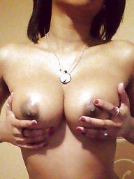 Ebony, Black tits, Titties