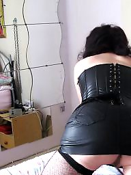 Mature, Leather, Milf leather, Mature leather