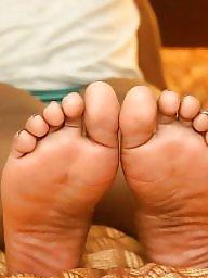 Black, Ebony feet