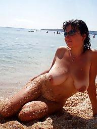 Nude, Mature nude, Outside, Nude mature, Public mature, Public boobs