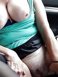 Mature, Car, Cars, Voyeur mature, Women, Mature car