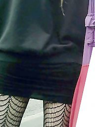 Skirt, Tights, Tight, Black teen, Tight ass