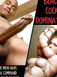 Slave, Caption, Big cock, Captions, Slaves, Interracial captions