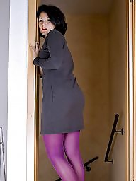 Purple, Tease, Tight, Tights, Teasing