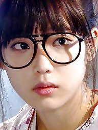 Glasses, Korean, Celebrity, Glass