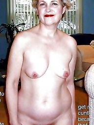 Amateur mature, Blonde mature