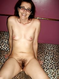 Small, Small tits, Hairy amateur, Hairy milf, Milf hairy