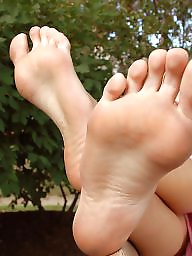 Mature feet, Mature women