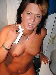 Mature blowjob, Face, Faces, Mature face, Brunette mature, Mature brunette