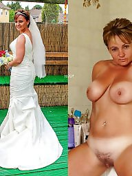 Dressed undressed, Bride, Undressed, Brides, Undressing, Milf stocking