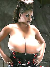 Big tits, Monster, Monster tits, Big black tits, Monster boobs, Big black