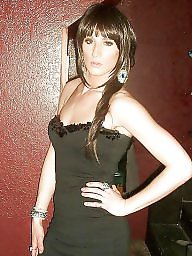 Crossdresser, Crossdress, Crossdressers, Crossdressing, Flashing stockings