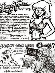 Vintage, Vintage cartoons, Cherry