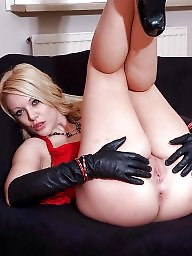 Leather, Gloves, Glove