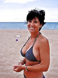 Mature bikini, Bikini, Downblouse, Mature dressed, Mature amateur, Underwear