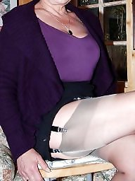 Mature stockings, Stockings, Jeans, Mature stocking