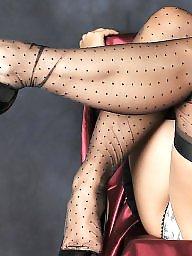 Upskirt, Nylon, Mature upskirt, Nylons, Legs, Mature nylon