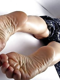 Feet, Mature feet, Asian mature, Dick, Asian milf, Asian feet