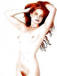 Hairy, Redhead, Posing, Amateur hairy, Redheads, Hairy redhead