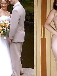 Bride, Dressed undressed, Undressed, Undressing, Dress undress, Brides