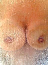 Shy, Big boobs